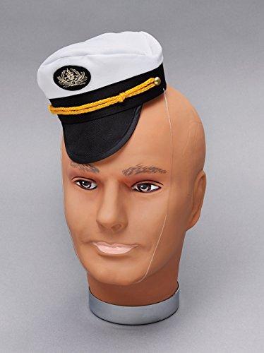 Kapitän Kappe Mini Hut Zubehör für Soldaten Militär Armee Kostüm Hut (Hut Kostüm Soldat)