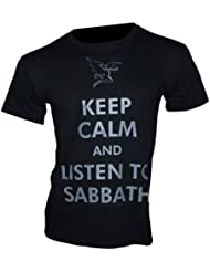 Black Sabbath - T-Shirt KEEP CALM Gr. XXL - Bandshirt