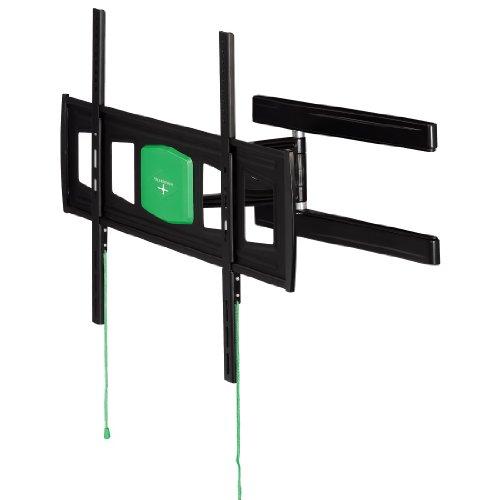 Hama TV-Wandhalterung Fullmotion Ultraslim (neigbar, schwenkbar, vollbeweglich, 94 bis 165 cm Diagonale, 37 bis 65 Zoll, Max. 35kg, VESA bis 700x 500) schwarz
