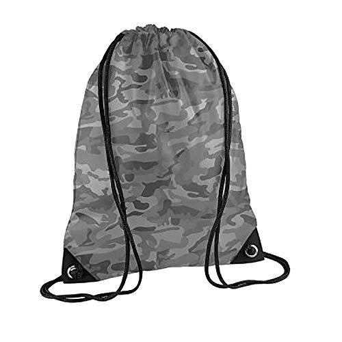 BagBase Premium Turn Sack Wasser abweisend (11 Liter) (Einheitsgröße) (Arctic Camouflage) Arctic Camouflage