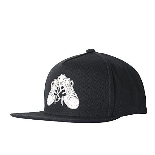 adidas Herren Sneaker Snapback Cap, Schwarz, OSFM