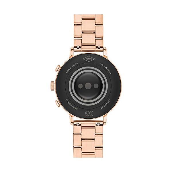 Fossil Connected Smartwatch Gen 4 para Mujer con tecnología Wear OS de Google, frecuencia cardíaca, GPS, NFC y… 6