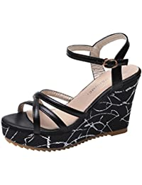 Xprwwq0 Flecos Y Es Complementos Amazon Awpq6 Sandalias Zapatos Mujer ulK1c5F3TJ