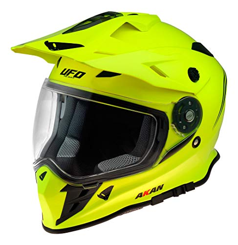 UFO Akan Enduro Adventure - Casco da motocross