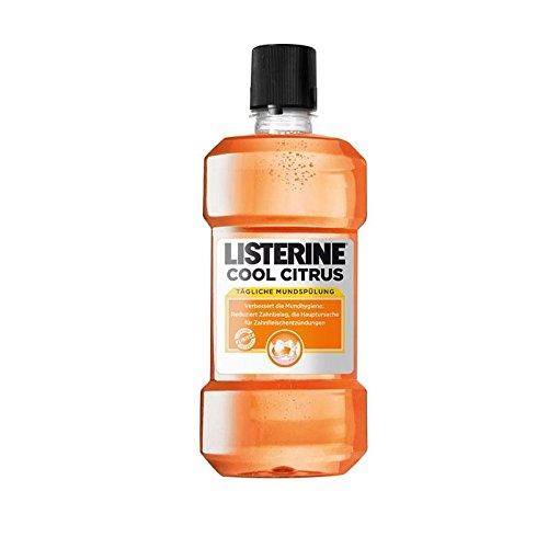 6x Listerine Cool Citrus Mundspülung 500ml (6x 500ml) (Listerine Spray)