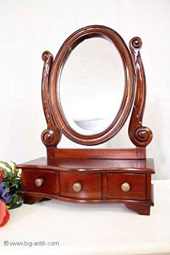 Espejo-para-maquillajeespejo3-cajonesfacetas-de-espejo-de-oval-de-madera-de-caoba-maciza-de-estilo-colonial
