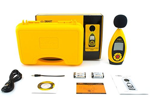 Gowe Tragbare Sound Level Meter Geräuschpegel Test