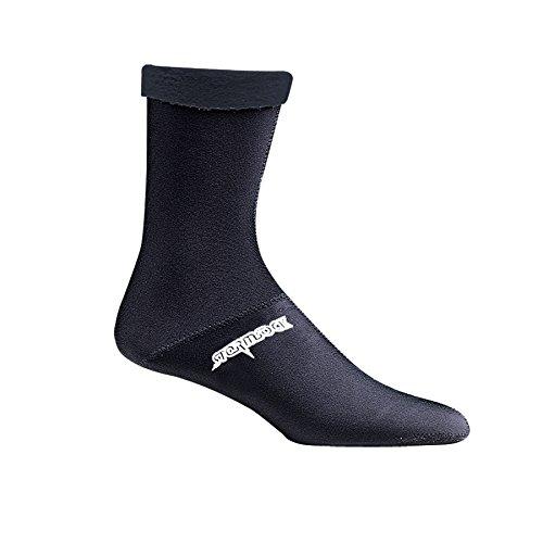 Seirus Innovation 2905Weathershield stormsock-Winddicht, wasserdicht, atmungsaktiv, Socke, Unisex Damen, schwarz, XL - Clava Band