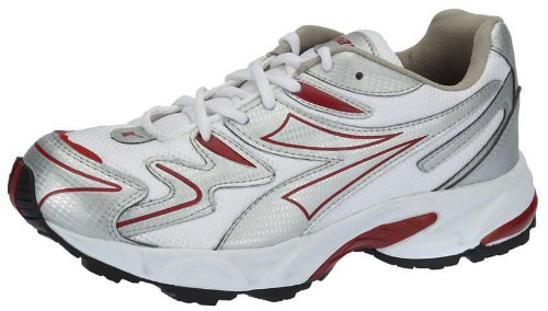 Sparx Men's Silver and Red Running Shoes - 7 UK (SM-20)