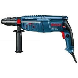Bosch Professional 0611254803 GBH 2600 Bohrhammer, SDS-plus-Wechselfutter, 13 mm Schnellspannbohrfutter, 720 W, Koffer 230 V