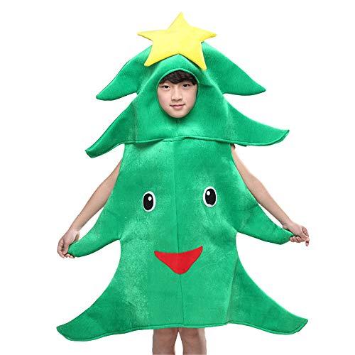 (Yiwuhu Weihnachtskostüm Kinder-Christbaumkostüme, Pflanzenauftritte, Bühnenrequisiten, Cartoon-Baumschmuck (Größe : 110cm))