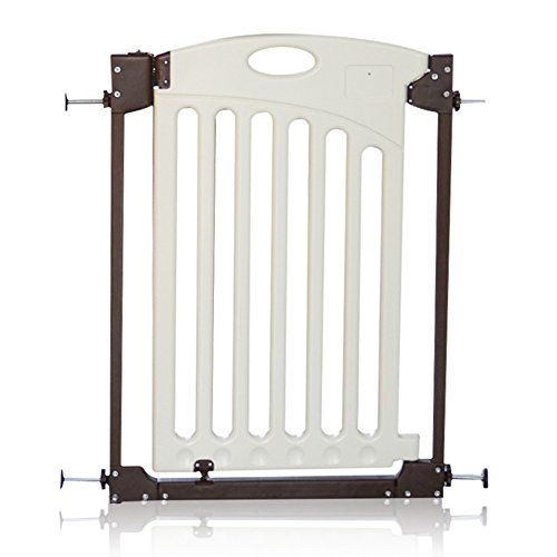 Indoor Safety Gates Plastic Baby Gate Wall Protector Retractable For