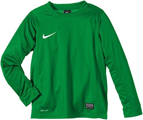Nike Long Sleeve Top Park V Jersey, Pine Grün/Weiß, S, 448256-302 (Jersey Stitch-pullover)