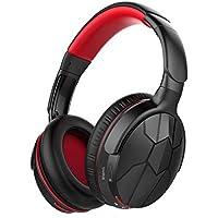 Auriculares Bluetooth Cascos inálambrico, Mixcder Auriculares Inalámbricos Bluetooth con Micrófono, 20 horas de juego, Cascos Bluetooth Audio de Alta Fidelidad y HiFi, para iPhone Samsung Huawei, etc