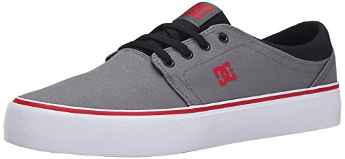 DC Shoes Trase Tx, Baskets mode homme Grey/black/red