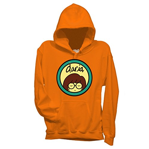 Felpa DARIA - CARTOON by Mush Dress Your Style Arancione