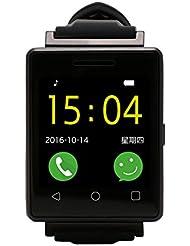 Smartwacth De Mujer / Smartwatch Running Smartwatch Sim - Smartwatch Deporte & Reproducción De Vídeo MP4 Cámara Remota Bluetooth ( Negro ) / MUJG7