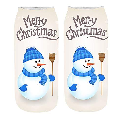 TEBAISE Lustige Sneaker Socken 3D Bunt mit Motiven Print Sneakersocken Motivsocken Damen Herren Unisex Füßlinge & Sneakersocken,Halterlose Strümpfe,Kniestrümpfe,Sportsocken
