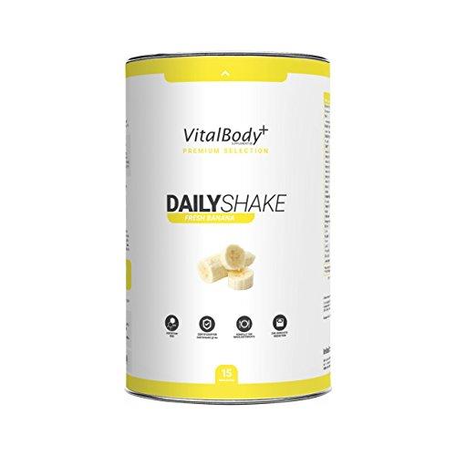 Früher Aminosäuren (Mahlzeitenersatz - Eiweißshake VitalBody+DAILYSHAKE | zertifizierter Diät-Shake zur Gewichtsabnahme | vollwertiger Abnehmshake 7 Sorten | Deutsche Premium Qualität)