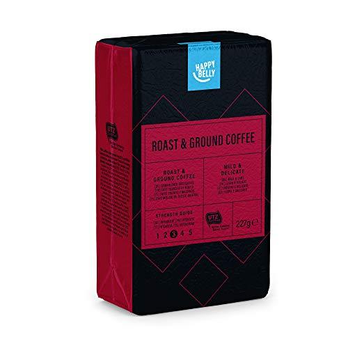 Amazon-Marke: Happy Belly  Gemahlener Röstkaffee - Roast & Ground Coffee 1,36 kg (6 x 227g)