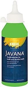 Javana 91.460 - Textil Pintura de Tela Opaca, Botella de 250 ml, Hoja Verde