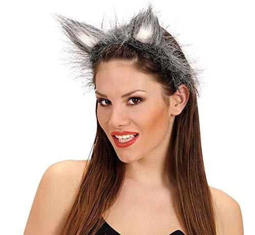 Piccoli monelli Frontino orecchie lupo halloween