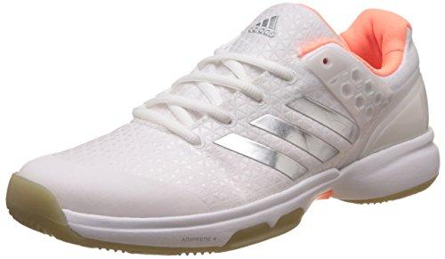 Adidas Donna Adizero Ubersonic 2 Scarpe da Tennis Scarpa per Tutte Le Superfici Bianco - Argento 38