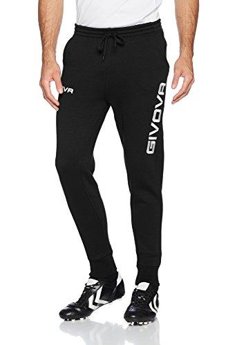 Givova moon pantalone lungo ginnastica uomo, nero (nero), s