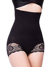 Femme Culotte Sculptante Culotte Push Up Body Minceur Gaine Amincissante  Ventre Plat Taille Haute L 69079a20c0c