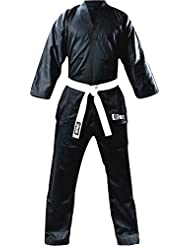 Flash Kids Plain V de recorte polialgodón Freestyle Traje, color  - negro, tamaño 0000/100cm