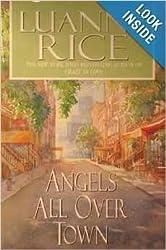 Angels All Over Town [Gebundene Ausgabe] by Luanne Rice