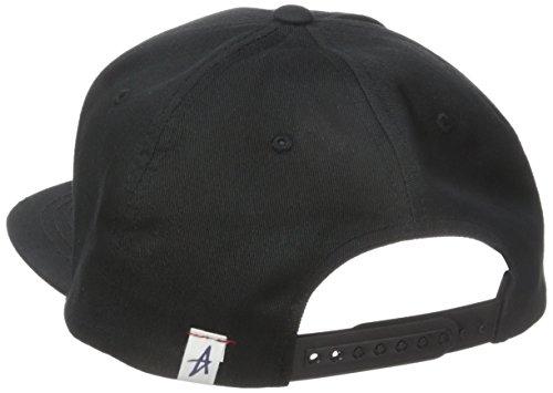 Herren Kappe Altamont Stacked Snapback Cap Black