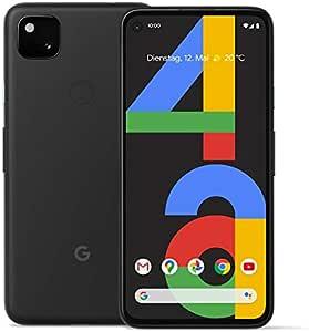 """Google Pixel 4a 14,7 cm (5.8"""") 6 Go 128 Go 4G USB Type-C Noir Android 10.0 3140 mAh Pixel 4a, 14,7 cm (5.8""""), 6 Go, 128 Go, 12 MP, Android 10.0, Noir"""