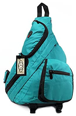 GFM Multi Pocket Monostrap Sling Backpack (#70-TNL-1) Multi Purpose School, Sports , Travel , Gym , Cycling , Biking etc (#70-TNL-1)
