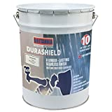 Durashield Grey Liquid Rubber Based Waterproof Roof Paint Coating Sealant, High Performance One