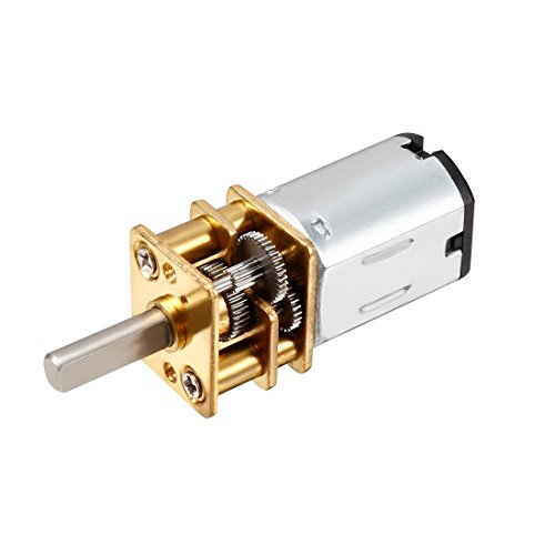 Tradico® 1000r/min, 12V: GA12-N20 DC 12V 1000RPM High Torque Speed Reducer Toy Car Gear Motor