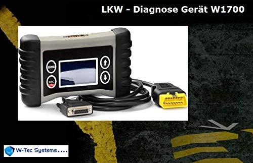 System-diagnose-gerät (W-Tec Systems LKW - Diagnose Gerät W1700)