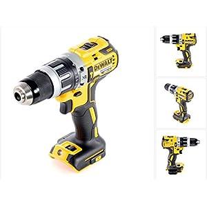 DEWALT DCD796N 18 V XR Li-Ion Brushlesser, kompakter Kombi-Hammer, gelb/schwarz
