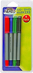 Fellowes Cd Dvd Marker Pens - 4 Pack
