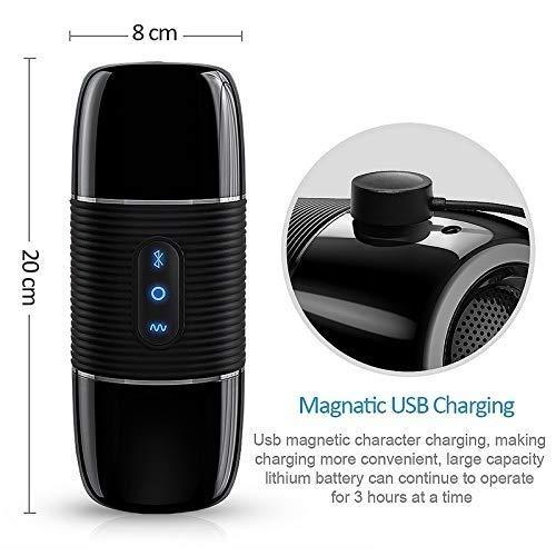 MUDIYYYzgl Bluetooth-Lautsprecher mit Mehreren Geschwindigkeitsmodi, elektronische Taschen-Spielzeug, Spielzeug - YAMD196 Didos (Massage-lautsprecher)
