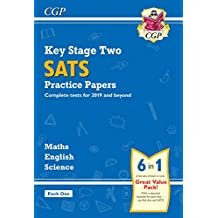 New KS2 Complete SATS Practice Papers Pack: Science, Maths & English (for the 2019 tests) - Pack 1 (CGP KS2 SATs Practice Papers)