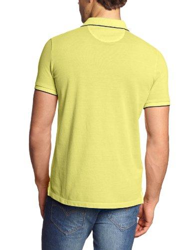 Marc O'Polo Herren Poloshirt 324 2266 53336 Gelb (225 light lily)