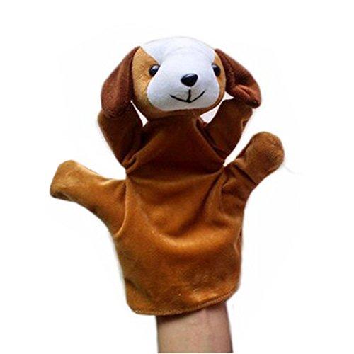 Creativa Niño felpa marionetas de mano, Perro