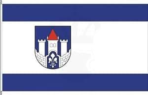 Königsbanner Hochformatflagge Lichtenau - 120 x 300cm - Flagge und Fahne