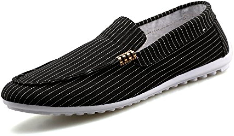 Uomini occasionale scarpe, margini, respirabile espadrilli, espadrilli, espadrilli, uomini scarpe casual, fannullone scarpe,nero,40 | Ben Noto Per Le Sue Belle Qualità  | Uomo/Donne Scarpa  2beb2c
