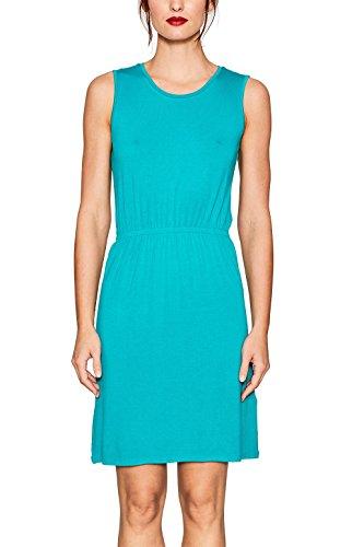 ESPRIT Damen Kleid 067EE1E011, Türkis (Aqua Green 380), X-Large