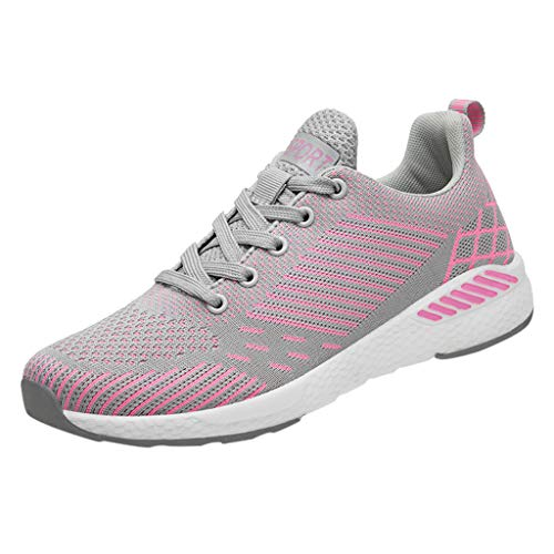 Lilicat Scarpe da Ginnastica Uomo Donna Sportive Corsa Trail Running Sneakers Fitness Casual Basse Trekking Estive All'Aperto Antinfortunistica Modelli Leggeri di Scarpe da Ginnastica (Grau 2,35 EU)