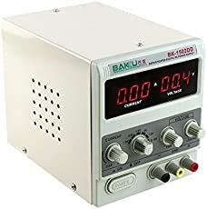 Buyyart New Baku Laboratory Basic DC Power Supply for Only Mobile BK-1502DD 0-1A 0-15