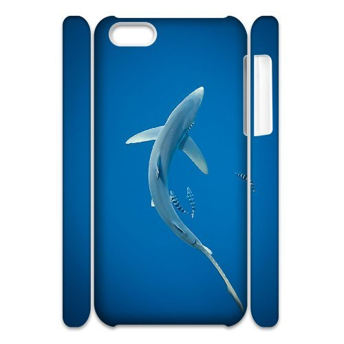 LP-LG Phone Case Of Deep Sea Shark For Iphone 4/4s [Pattern-6] Pattern-4