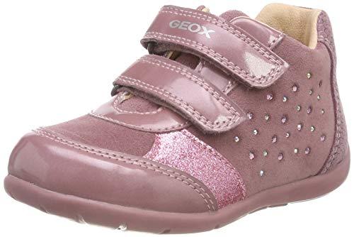 Geox Baby Mädchen B Kaytan A Sneaker Dk Pink C8006, 25 EU